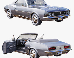3D model Chevrolet camaro 1967 convertible