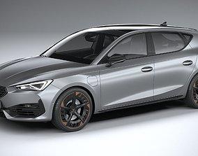 3D model Seat Leon Cupra 5-door 2021
