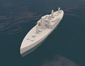Brazilian Ironclad Brasil 3D printable model printable