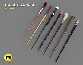Wands from Fantastic Beasts 3D print model