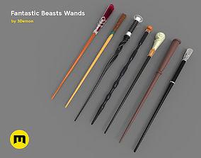 Wands from Fantastic Beasts 3D print model