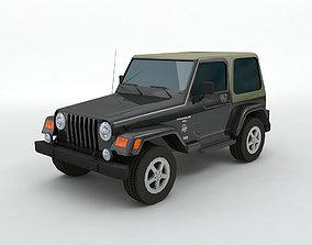 Jeep Wrangler 4x4 3D model