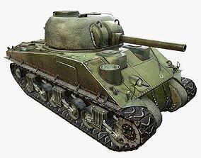 M4 Sherman Tank 3D asset
