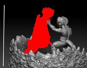 Mecha Frieza vs future trunks the first part 3D print