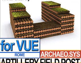 Roman Artillery Field Post 3D