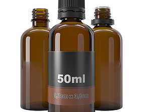 3D model bottle 50ml