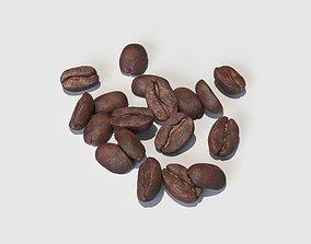 3D Coffee Beans coffee