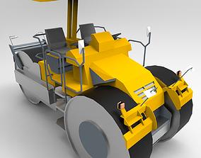 3D model Roller Road Excavator III