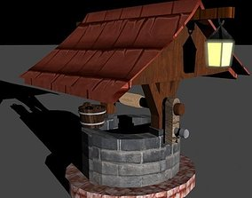 storage Water Well 3D model
