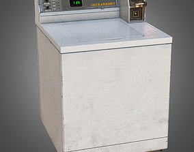 GEN - Top Load Washer - PBR Game Ready 3D asset