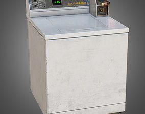 3D model Top Load Washer - PBR Game Ready