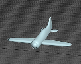 3D printable model Plane su-26