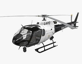 3D asset AS-350 LAPD