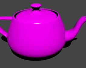3D model Pink Teapot