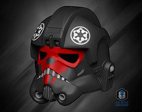 Tie Fighter Pilot Helmet 3D print model