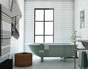 Interior Bathroom interior 3D model