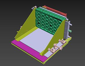 3D Tray loading mechanism