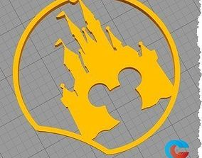 3D print model Disney Inspired Mouse Ear - Castle with