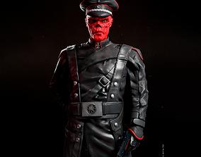3D print model Red Skull Marvel - Fan Art Statue
