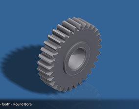 3D print model 30-Tooth Spur Gear 03