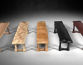 3D asset Bench M01 - The Marquis Collection