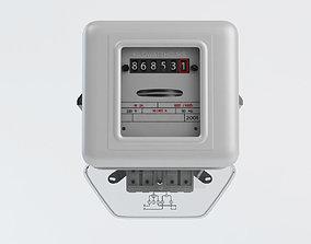 3D electric meter