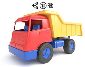 3D model realtime Toy Truck