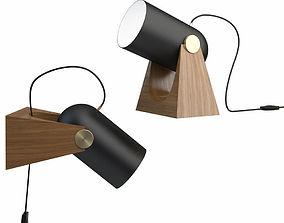 Carronade 260 tablewall lamp 3D