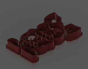 3D printable model Easter bunny cookie cutter