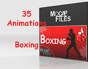 3D Boxing - Fighting - motion capture animations- Bundle