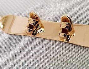 3D printable model Snowboard Pendant