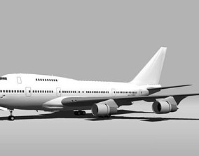 3D Template - Boeing 747SP
