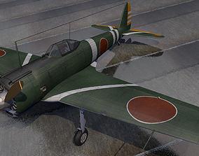 Nakajima Ki-43-1b Hayabusa - aka Oscar 3D model