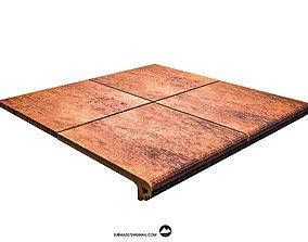 3D asset Tile Gres de aragon Jasper