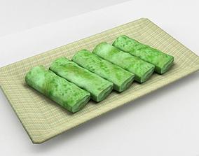 3D Asian Pancake Kueh Dadar