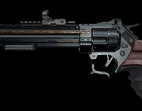 Revolver - Enforcer 3D asset