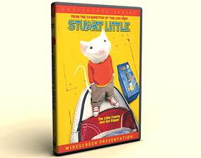 3D DVD Case Amaray