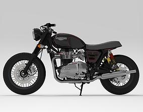 Triumph Bonneville Motorcycle 3D model