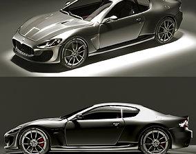 Maserati Grantourismo 3D model