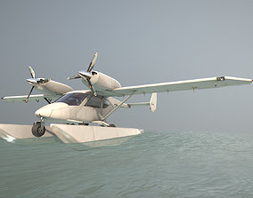 3D asset Accord-201 Floatsplane Default Livery