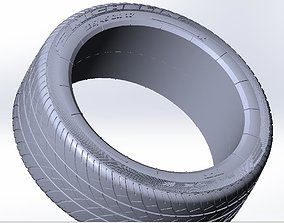 3D Michelin F1 tires