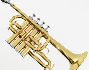 cornet 3D Piccolo Trumpet