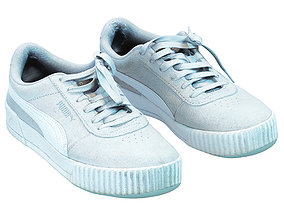 Old Shabby Puma Sneakers 3D