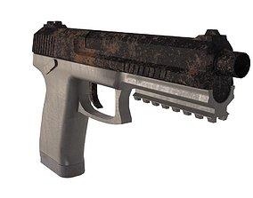 3D model Pistol Mk 23