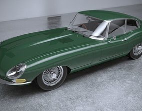 3D Jaguar S8 E Type 1961 car