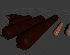 3D asset Sousage compilation 7in1