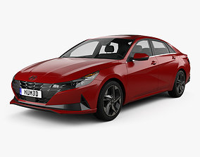 Hyundai Elantra US-spec 2020 3D model