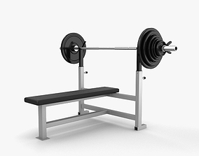 3D model Weight Training Bench