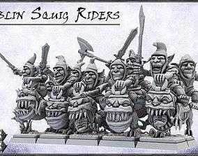 Goblin Squig Riders -UNIT- 28mm 3D printable model