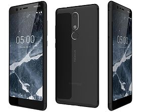 Nokia 5 1 Black 3D